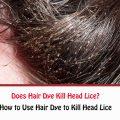 Does Hair Dye Kill Head Lice?